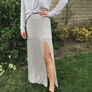 Brandy Melville Maxi Skirt with Slit